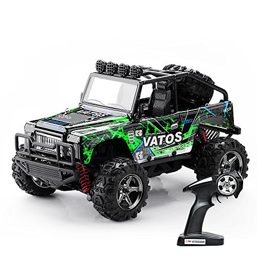 vatos rc voiture t l command e tout terrain 4x4 echelle 1 22 grande vitesse 45km h. Black Bedroom Furniture Sets. Home Design Ideas