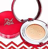 Rojo Apple Magic CC cojín/SPF 50+ Pa + + + 15G no. 21True Color Beige (Refill Set) SPF50+ Pa + + + UV Protección Blanqueamiento antiarrugas funcional cosméticos