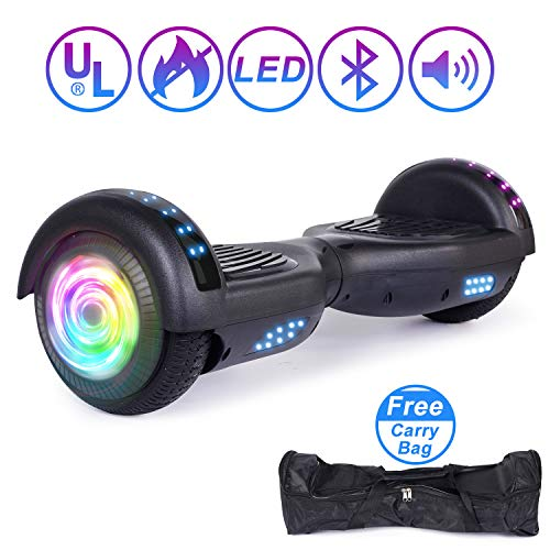 Jolege Hoverboard Monopattino Elettrico Bambino, Bluetooth 2 * 300W Motore, 6.5' Self Balance...