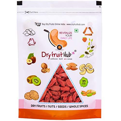 Dry Fruit Hub Dried Goji Berries 800gms Gojiberry, Dried Berries - Antioxidants Rich Goji Berries