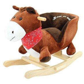 Sweety Toys 3549 animales de oscilación del caballo mecedora Caballo Pony