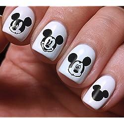 nail art Decals set 3D DIY Mickey Mouse Disney Cartoon design–Design di alta qualità originale bellezza Fashion Style decorazione acqua, i migliori prodotti per bambini, ragazzi, ragazze e donne
