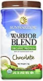 Sunwarrior Warrior Blend Organic Raw Vegan Protein Powder, Chocolate, 1kg