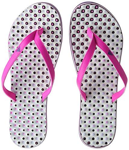 adidas Eezay Flip Flop, Scarpe da Spiaggia e Piscina Donna, Rosa (Shock Pink/Collegiate Royal/Aero...