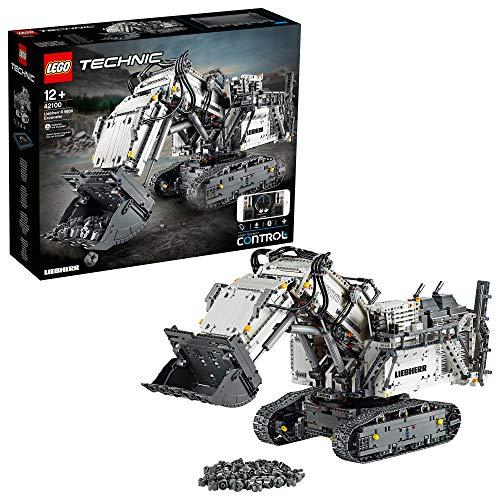 LEGO- Technic Power Functions Escavatore Liebherr R 9800 Set di Costruzione, Multicolore, 42100