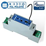Qubino Z-Wave Plus Pilot Wire DIN Rail Module