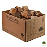 Smoking Wood Chunks Beech - Kiln Dried Wood in Small Chunks for Smoking Food on BBQ's. Large 9KG / 25 Litre Box - Fast Delivery (Beech)