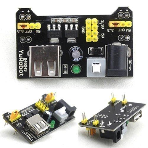 517stltSN0L - Ecloud Shop® 3.3V/módulo de alimentación de 5V MB102 breadboad para el Arduino proporcionad