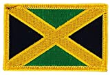 Toppa termoadesiva Ricamata per Zaino, Motivo: Bandiera Giamaica