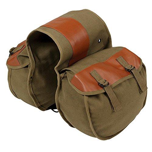 FREESOO Motorrad Fahrradtasche Satteltasche,Seitliche Gepäckträgertasche Satteltasche
