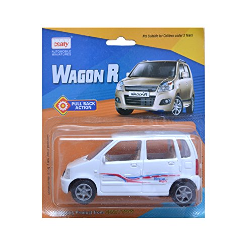 Centy Toys White Wagon-R Car for Kids (Colour May Vary)