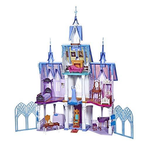 Disney Frozen 2 - Castello di Arendelle Deluxe con Luci, Terrazzo Mobile e Suoni Alto 1.5 m, Ispirato al Film Frozen 2