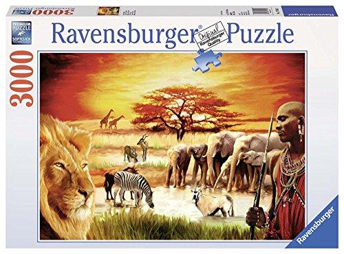 Ravensburger 17056 - Puzzle, Fierezza du Massai, 3000 pezzi