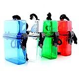 seguryy ABS Outdoor Wasserdicht Kunststoff Behälter Wasser Schlüssel Geld Aufbewahrungsbox Fall Halter