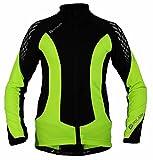 Polaris Fang Long Sleeved Cycling Jersey Kids - Yellow/Black, XL