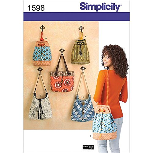 Simplicity Creative Patterns 1598 Bags