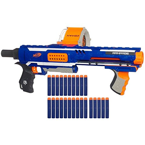 Nerf 98697148 - Arma Giocattolo Rampage