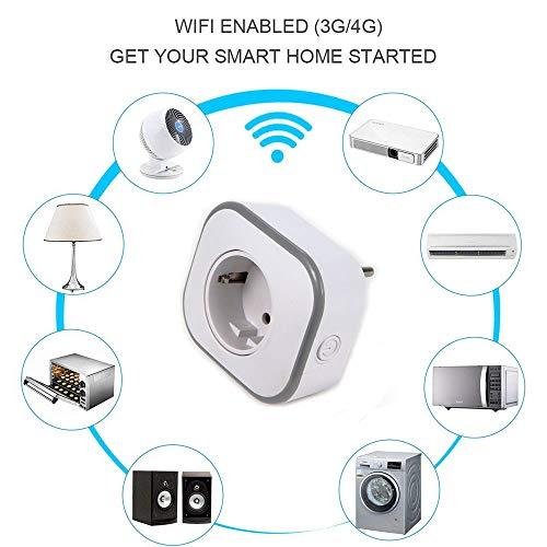 WMIAO WiFi Smart Plug Environnement, Mobile APP Remote Control Timing/Télécommande Prise De Commutateur Alexa Voice Control Goole Assistabt,... 28