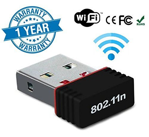 VIBOTON USB WiFi Adapter 950 Mbps,Wireless Network Receiver Dongle for Desktop pc Laptop.(Support- Windows XP/7/8/10 & MAC OS) NOt Support to DVR and HDTV