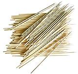 Fackelmann 100 spiedini in bambù, Bamboo, Marrone, NC