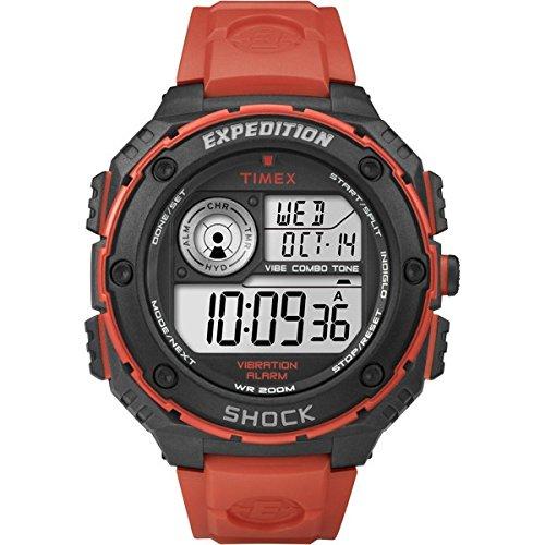 Timex T49984 Orologio da Polso, Quadrante Analogico - Digitale da Uomo, Cinturino in Resina,...
