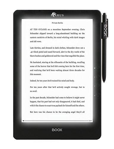Icarus E1053BK lectore de e-Book Pantalla táctil WiFi Negro - E-Reader (24,6 cm (9.7'), E Ink Pearl, 1200 x 825 Pixeles, 2:3, 1200 x 825 Pixeles, CHM,Doc,DjVu,EPUB DRM,FB2,HTML,MOBI,PDB,PDF,RTF,TXT)