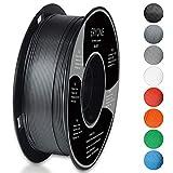 Filament PLA 1.75mm, Eryone PLA Filament 1.75mm, Imprimante 3D Filament PLA Pour Imprimante 3D, 1kg 1 Spool,Argent