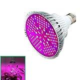 AOLVO Bombilla LED de 100 W, espectro completo lámpara de luz para plantas de interior, hidropónica, invernadero, jardinería, verduras y flores, 150 unidades, casquillo E27, luz de cultivo 85 ~ 265 V
