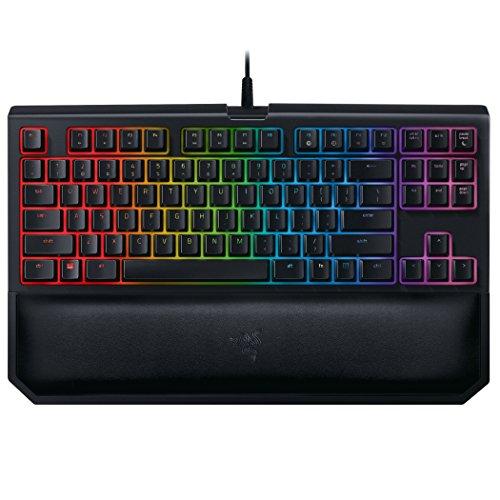 Razer BlackWidow Chroma V2, Teclado de Gaming, USB/Alámbrico, Negro RGB,...