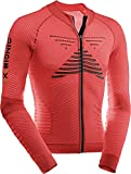 X-Bionic Bike Effektor Power Maillot, Hombre, Rojo Flash/n, S