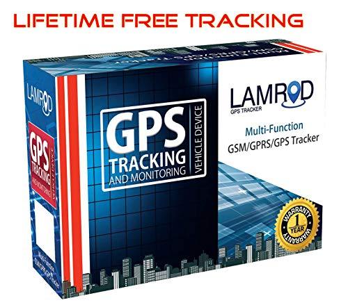 LAMROD Supreme Car/Bike Google Link GT02A GPS Tracker with Lifetime Free Subscription
