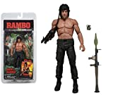 Top Top Anime Club Rambo First Blood Part II - 17,8 cm Figura de acción - Serie 3 (Rocky) NECA