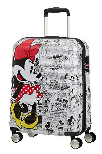 American Tourister Wavebreaker Disney - Comics- Spinner Small Bagaglio a mano, 55 cm, 36 liters,...