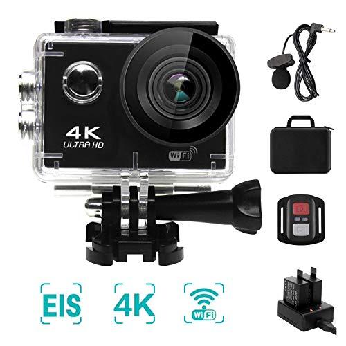 NINE CUBE Action Camera 4K Ultra HD WiFi 20 MP, Fotocamera Subacquea Profonda 30M,grandangolare 170...
