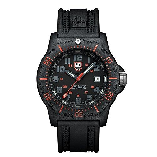 Luminox Black OPS PC Carbon Herren-Armbanduhr Analog Quarz Kautschuk - LU8815