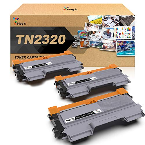 TN2320 7Magic TN-2320 Toner, Compatibile con Brother TN2320,Compatibile con Brother MFC-L2700DW...