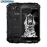 "DOOGEE S60 IP68 Smartphone libre - Impermeable Antipolvo Antigolpes 4G Android 7.0 Nougat Resistente Móvil libre, 5.2""HD, Helio P25 Octa-core, 6GB RAM+64GB ROM -Negro"
