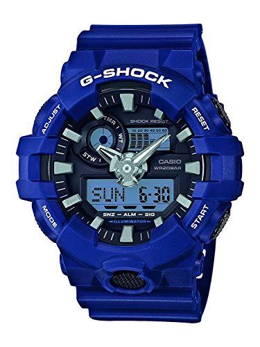 Orologio da Uomo Casio G-Shock GA-700-2AER, colore Blu