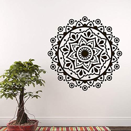 Mandala Studio Or Lying Yoga Decorativo Wall Sticker Vinile Home Decor Soggiorno Bohemian Adesivo...