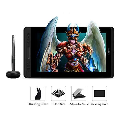 Huion KAMVAS PRO 13 Monitor tablet per disegno grafico senza batteria 13.3 pollici 8192 livelli di...