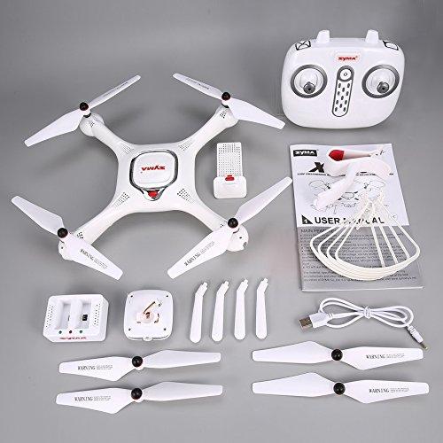 KNOSSOS Syma X25PRO RC FPV Quadcopter Drone 720P HD WiFi Telecamera Regolabile GPS