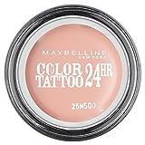 Maybelline Color Tattoo 91 Creme De Rose - sombras de ojos (Beige, Creme De Rose, Satén, CYCLOPENTASILOXANE, ISODODECANE, POLYPROPYLSILSESQUIOXANE, CERESIN, CYCLOHEXASILOXANE, CAPRYLYL METH)