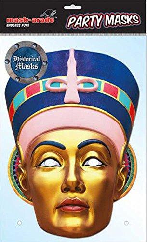empireposter Historical Papp Maschera egiptian Queen, Cartone Lucido di qualità con Fori per Occhi,...