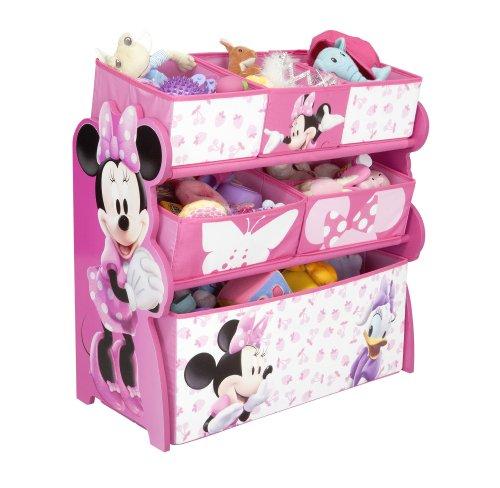 Delta Children TB84869MN caja de juguete y de almacenamiento - cajas de juguetes y de almacenamiento (29,85 cm, 66,04 cm, 63,5 cm, Multi, Tela, Madera, 2 Año(s))