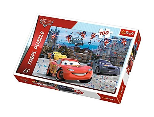 Trefl 41.389,3 cm Cars 2 Race in London Puzzle da Pezzi