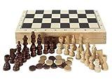 Aquamarine Games CP1070 - Ajedrez, damas y backgammon...