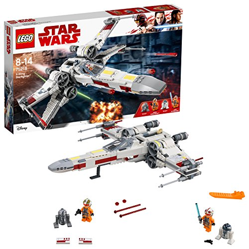 LEGO- Star Wars Luke Skywalker Xwing Starfighter, Multicolore, 75218