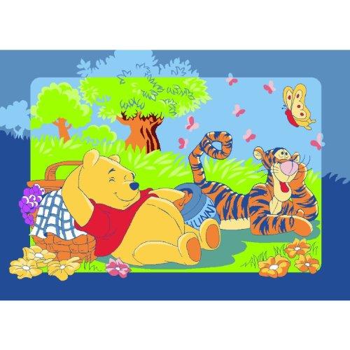 Winnie The Pooh con Tigro durante il Picnic Tappeto Tappeto Gioco da bambini tappeto per bambini...
