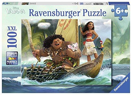 Ravensburger Italy Puzzle per Bambini Vaiana, 100 Pezzi 10943