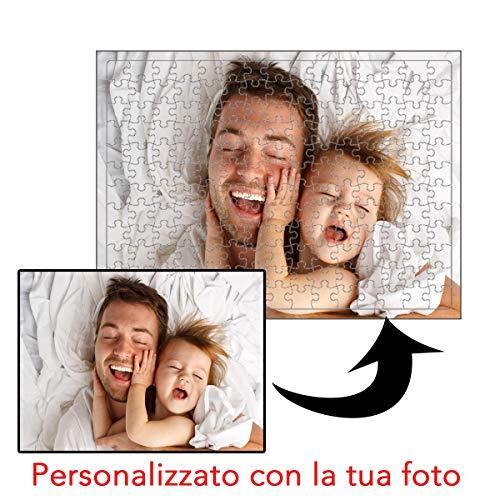 My Digital Print - Puzzle Personalizzato con Foto, 384 Pezzi, 28x40cm, Idea Regalo per la Festa del...